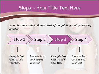 Little girls PowerPoint Template - Slide 4
