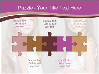 Little girls PowerPoint Template - Slide 41