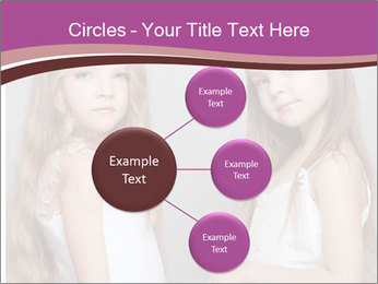 Little girls PowerPoint Template - Slide 79