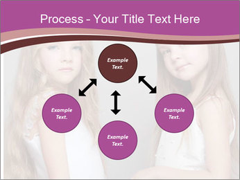 Little girls PowerPoint Template - Slide 91