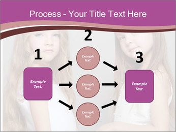 Little girls PowerPoint Template - Slide 92