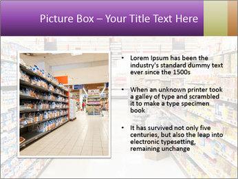 International supermarket PowerPoint Template - Slide 13