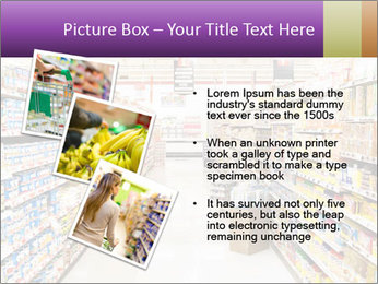 International supermarket PowerPoint Template - Slide 17