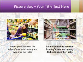International supermarket PowerPoint Template - Slide 18