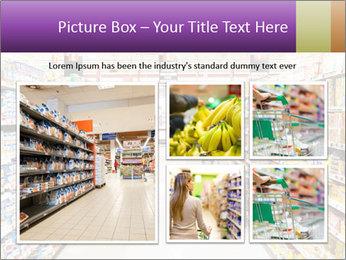 International supermarket PowerPoint Template - Slide 19