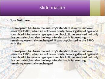 International supermarket PowerPoint Template - Slide 2