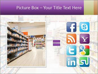 International supermarket PowerPoint Template - Slide 21