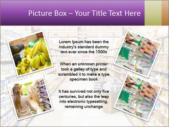 International supermarket PowerPoint Template - Slide 24