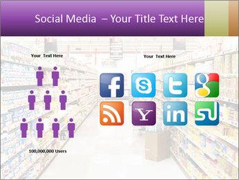 International supermarket PowerPoint Template - Slide 5