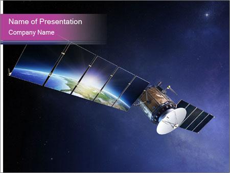 Satellite communications PowerPoint Templates
