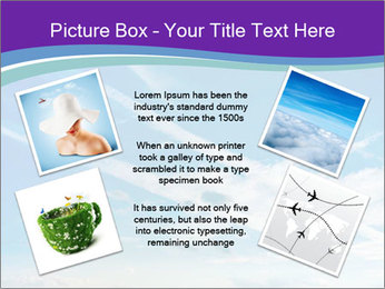Aircraft in the sky PowerPoint Templates - Slide 24