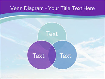 Aircraft in the sky PowerPoint Templates - Slide 33