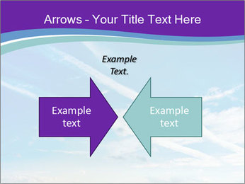 Aircraft in the sky PowerPoint Templates - Slide 90