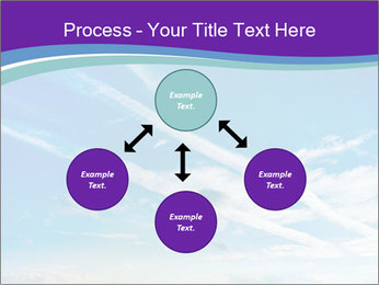 Aircraft in the sky PowerPoint Templates - Slide 91