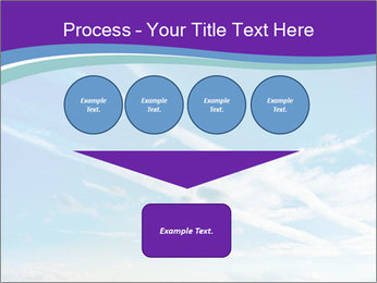 Aircraft in the sky PowerPoint Templates - Slide 93