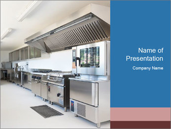 Professional kitchen PowerPoint Templates - Slide 1