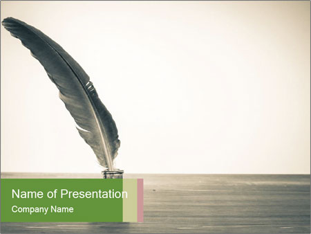 Vintage background PowerPoint Template