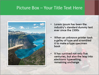Preikestolen rock PowerPoint Template - Slide 13