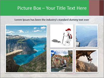 Preikestolen rock PowerPoint Template - Slide 19