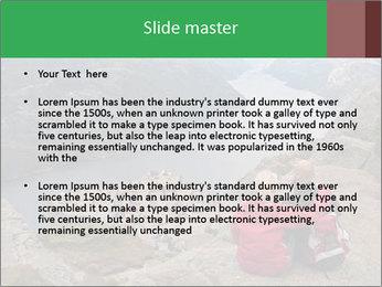 Preikestolen rock PowerPoint Template - Slide 2