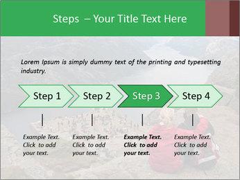 Preikestolen rock PowerPoint Template - Slide 4
