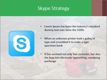 Preikestolen rock PowerPoint Template - Slide 8