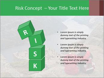 Preikestolen rock PowerPoint Templates - Slide 81