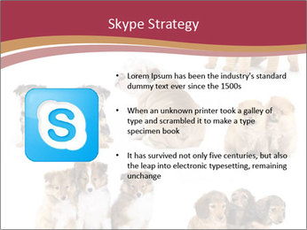 Group of Puppies PowerPoint Template - Slide 8