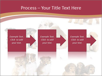 Group of Puppies PowerPoint Template - Slide 88