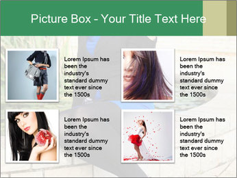 Young woman PowerPoint Templates - Slide 14
