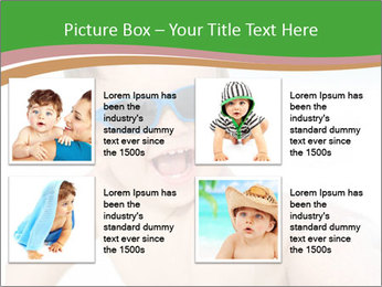 Cheerful baby PowerPoint Templates - Slide 14