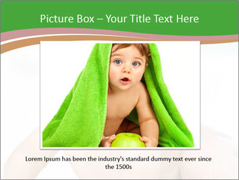 Cheerful baby PowerPoint Templates - Slide 15