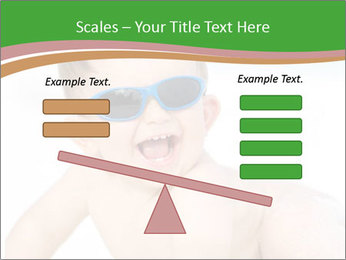 Cheerful baby PowerPoint Templates - Slide 89