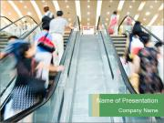Escalator PowerPoint Templates