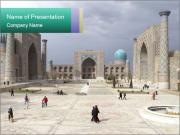 Uzbekistan PowerPoint Templates