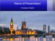 Big Ben and Westminster PowerPoint Template