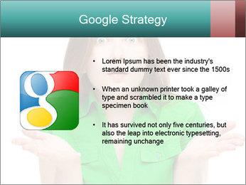 Shocked girl PowerPoint Template - Slide 10