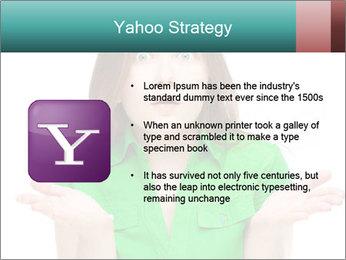 Shocked girl PowerPoint Template - Slide 11