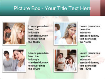 Shocked girl PowerPoint Template - Slide 14