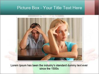 Shocked girl PowerPoint Template - Slide 15