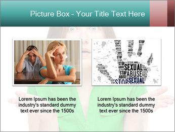 Shocked girl PowerPoint Template - Slide 18