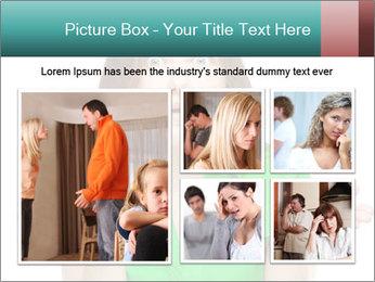 Shocked girl PowerPoint Template - Slide 19