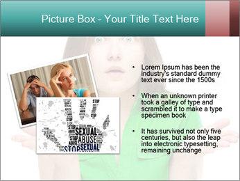 Shocked girl PowerPoint Template - Slide 20