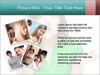 Shocked girl PowerPoint Template - Slide 23