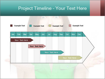 Shocked girl PowerPoint Template - Slide 25
