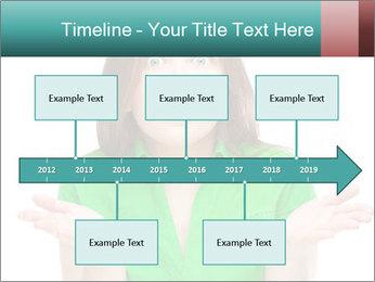 Shocked girl PowerPoint Template - Slide 28