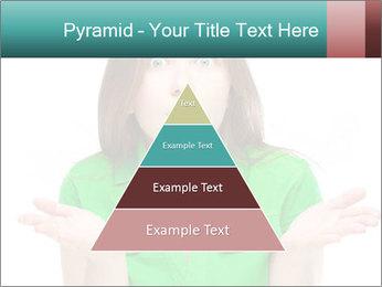 Shocked girl PowerPoint Template - Slide 30