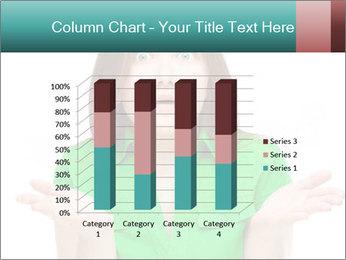 Shocked girl PowerPoint Template - Slide 50