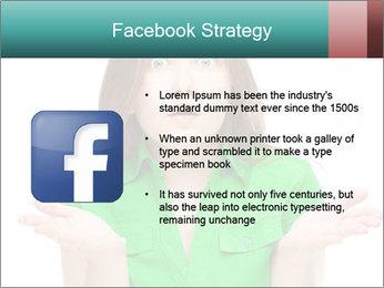 Shocked girl PowerPoint Template - Slide 6