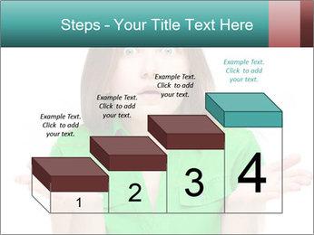 Shocked girl PowerPoint Template - Slide 64